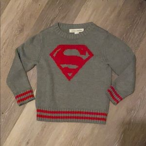 Baby Superman sweater size 3